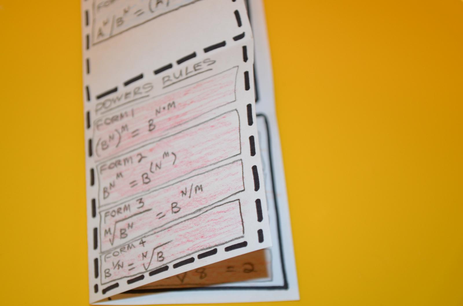 Algebra Radicals Interactive Journal Ideas