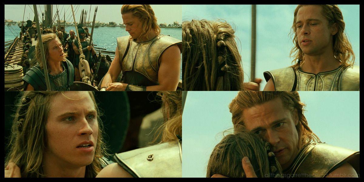 Achilles patroclus put down your spear patroclus but i