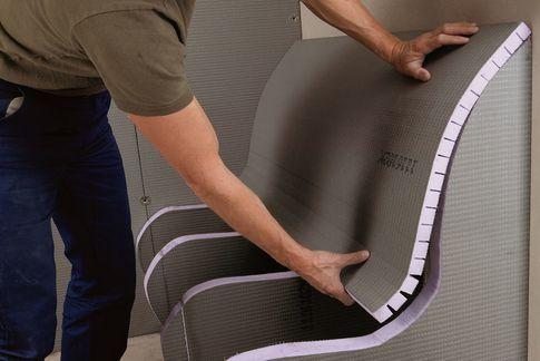 Sitzbank in der Dusche bauen. | Mögliche Materialien fürs Haus ...