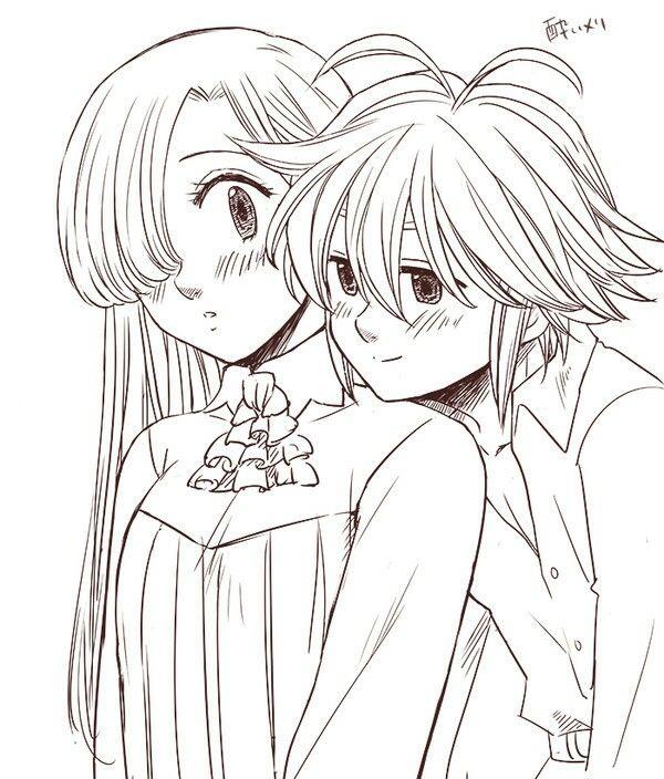 A Quiet Moment Seven Deadly Sins Anime Meliodas E Meliodas