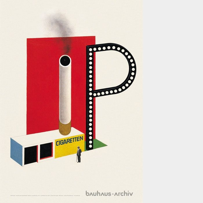 What Is Bauhaus Style cigarette kiosk in bauhaus style design herbert bayer 1924