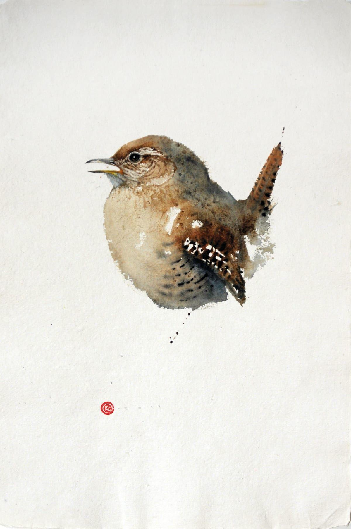 Karl martens works in 2020 owl watercolor watercolor