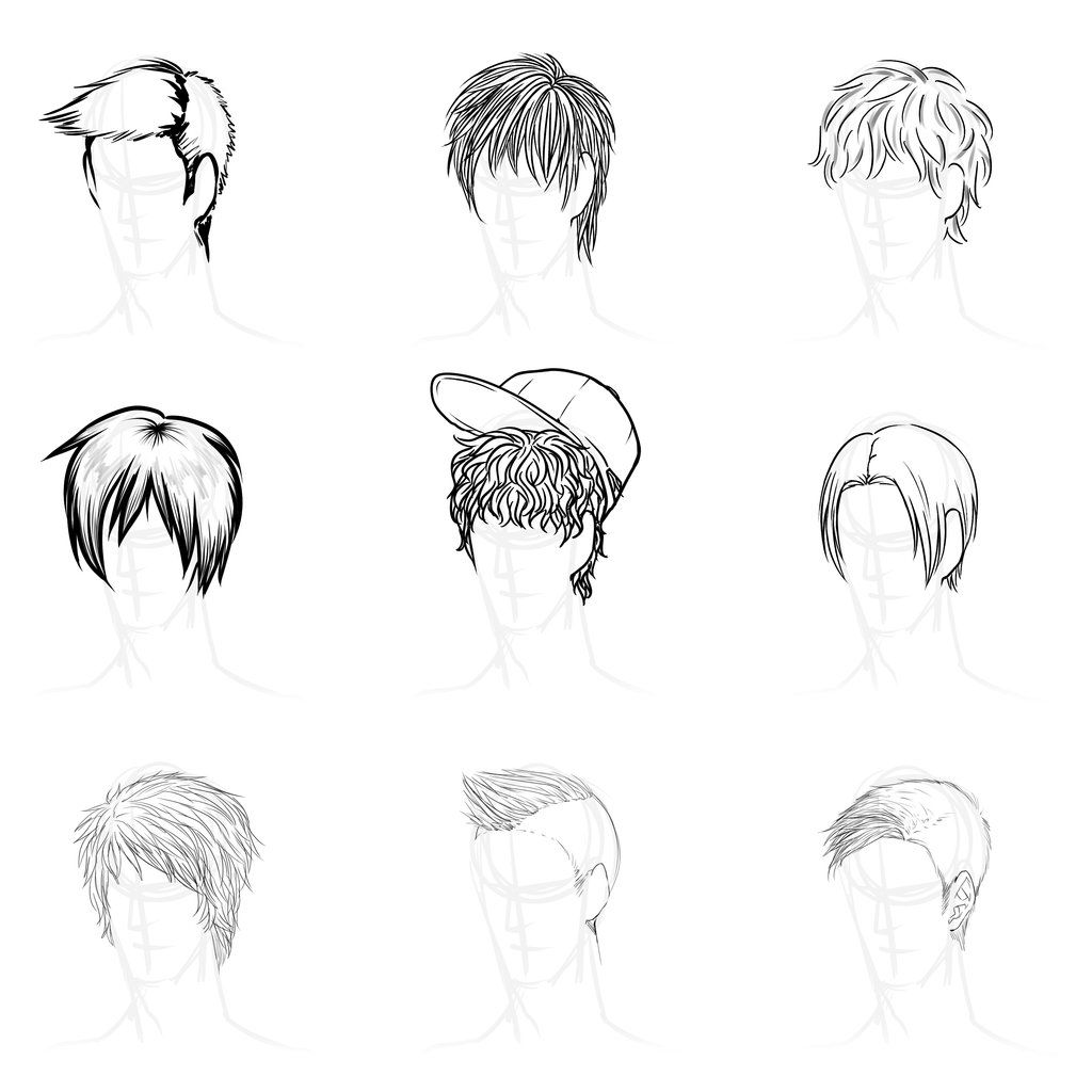 Anime Guy Hairstyle Models Hairstyle Bvjq Jpg Anime Hair Manga Hair Anime Hairstyles Male