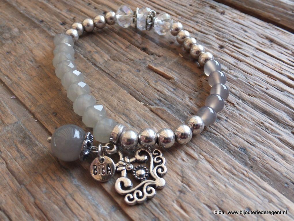 Combineer de diverse armbandjes van Biba en Jozemiek met elkaar en je maakt de mooiste setjes