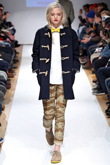 Mark McNairy New Amsterdam Fall 2013 Menswear Collection #bow #tie