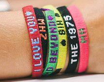 Customized Friendship Bracelet Woven Braceletsfriendship Bracelets