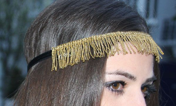 Oh nena! hairband - Outfit of the day: Golden touch