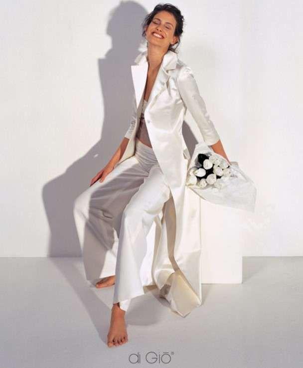on sale 9c77c 587c8 Abiti da sposa con pantaloni - Coordinato di Le Spose Di Gio ...
