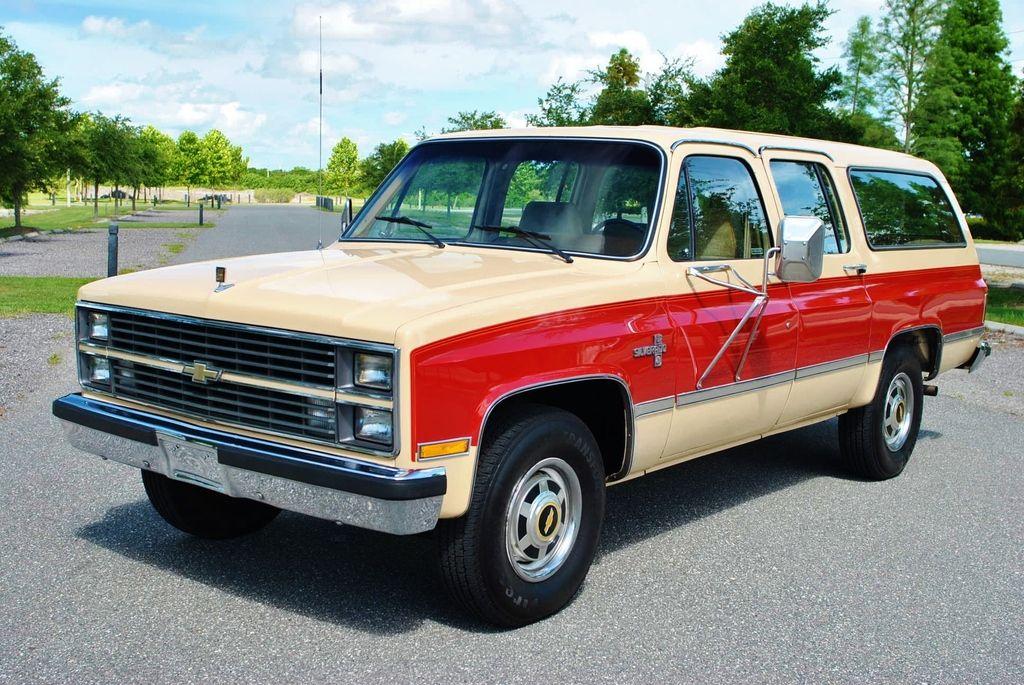 42 500 Miles 1984 Chevrolet Suburban Silverado For Sale