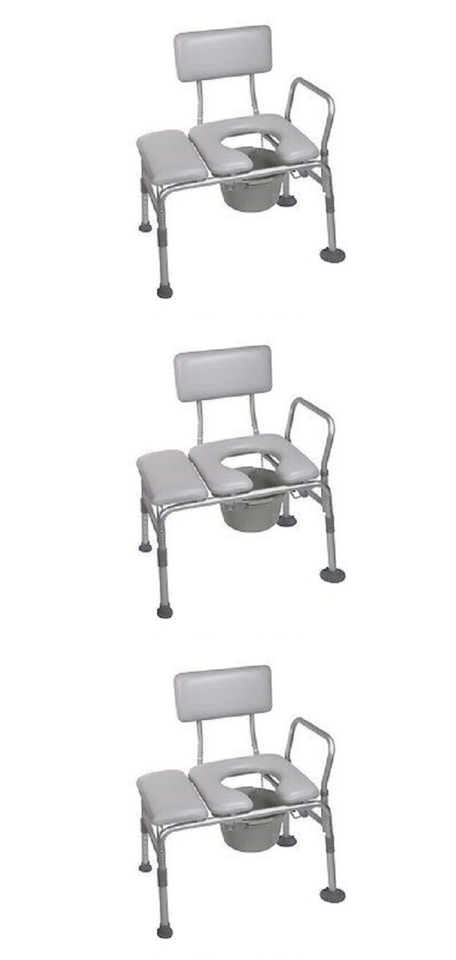 Toilet Frames and Commodes: Bedside Commode Handicap Toilet Transfer ...