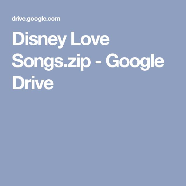 Disney Love Songszip
