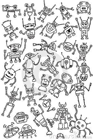 Images of robot parts to draw for kids - Google Search   Drawings