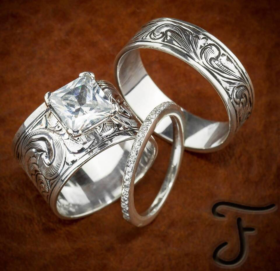 Fanning Jewelry П��😍😍: Western Wedding Rings Marriage At Websimilar.org