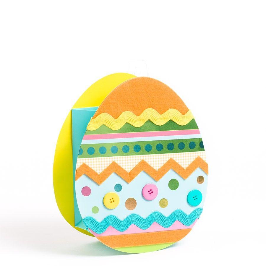 Die cut felt easter egg medium gift bag easter eggs eggs and medium die cut felt easter egg medium gift bag negle Images