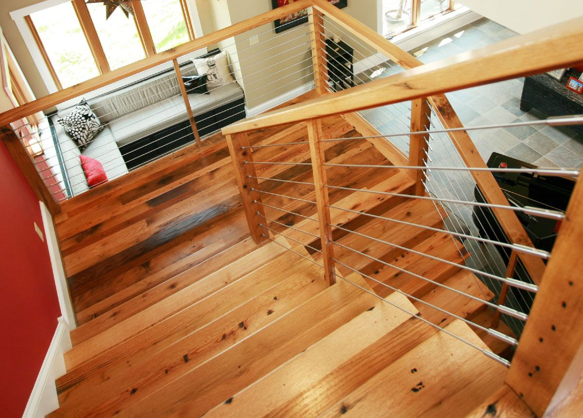 Best Barn Board Oak Stair Treads And Risers Reclaimed And 400 x 300