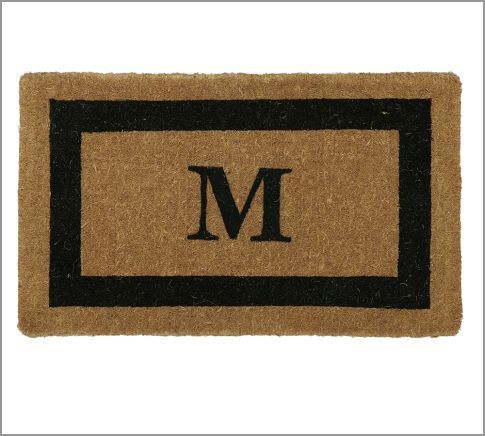 Personalized Framed Doormat Up To 3 Letters Coir