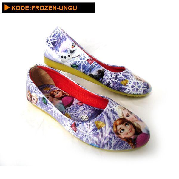 Sepatu Anak Perempuan Frozen Ungu Sepatu Anak Sepatu Sepatu Wanita