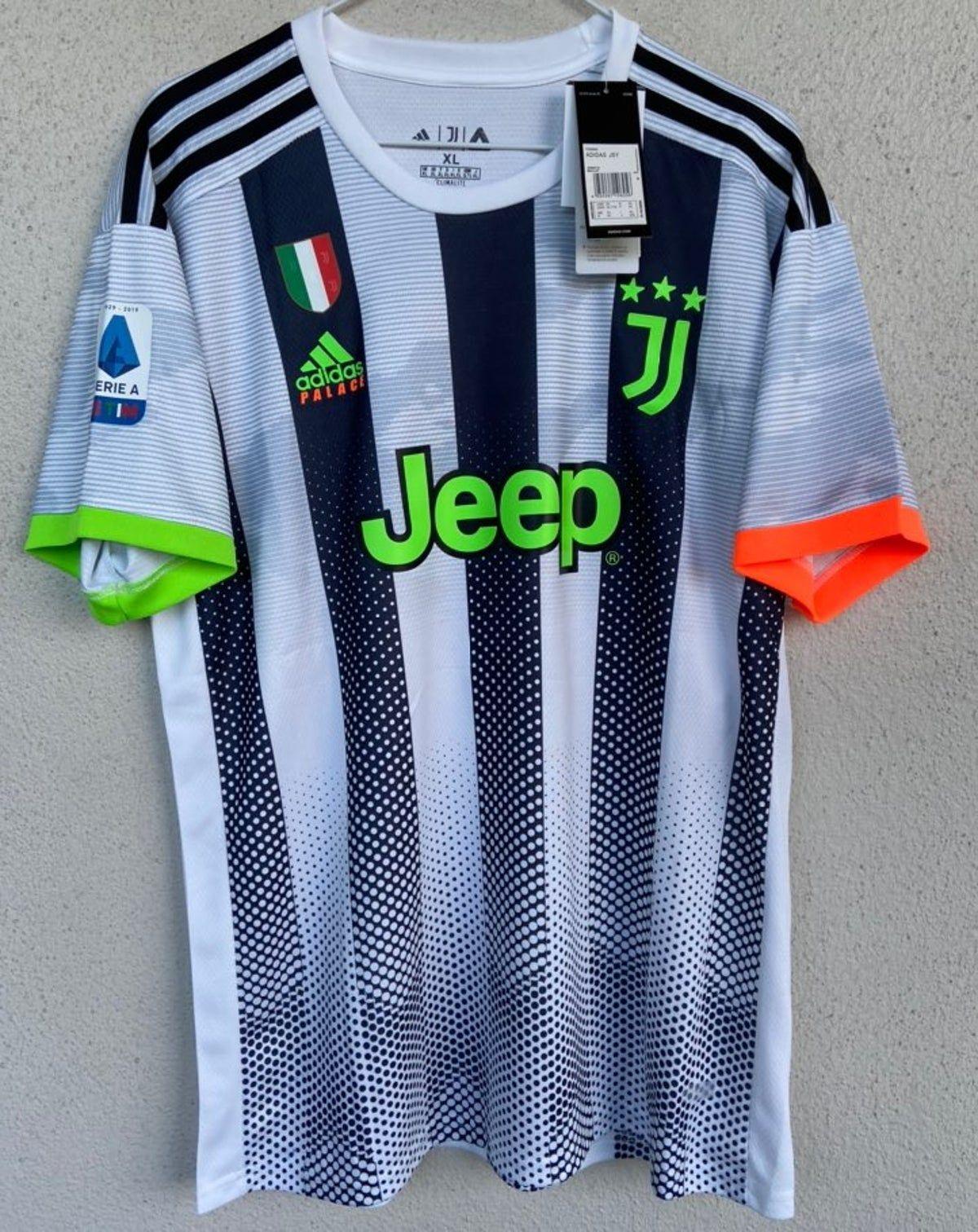 Palace Adidas x Juventus Ronaldo Jersey | Ronaldo jersey, Ronaldo ...