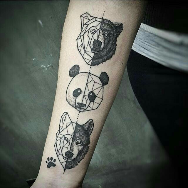 Pin By Caitlin Smith On Tattoo Geometric Animal Tattoo Geometric Tattoo Tattoos