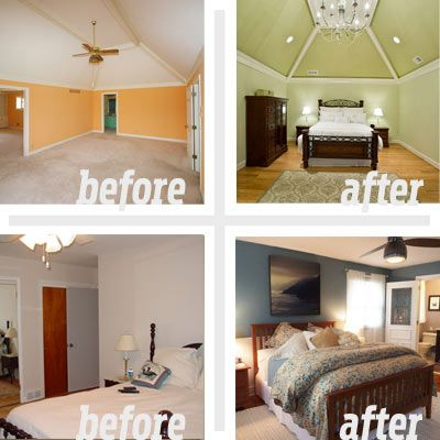 Best bedroom before and afters 2011 bedroom remodeling for Bedroom renovation ideas