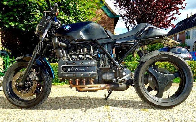 Bmw K 100 Rs 16v Rocketgarage Cafe Racer Magazine K Bike