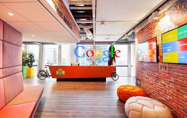 Les bureaux de google à amsterdam décoration bureaux entreprise