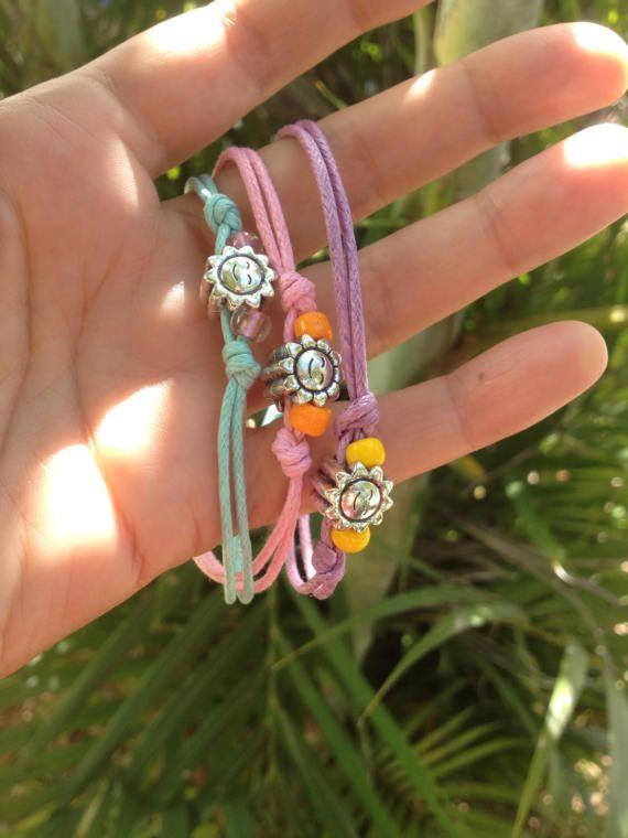 Set of 3 girls bracelets easter gift friendship bracelets for set of 3 girls bracelets easter gift friendship bracelets for negle Gallery