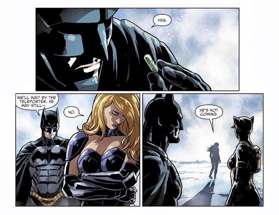 """He's not coming."" Injustice #30"