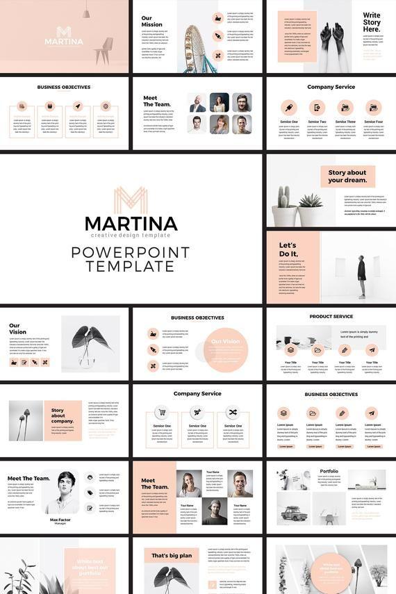Modern PowerPoint Presentation Template Design