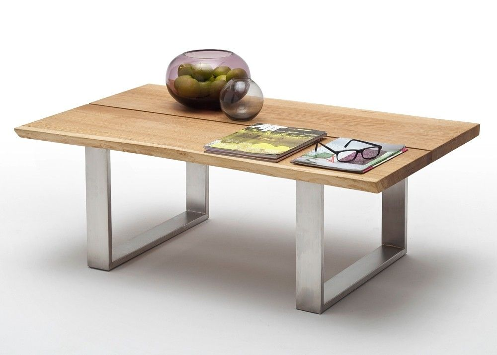 Couchtisch Holz Sandro 120X75 Wohnzimmertisch Asteiche Massiv 8832