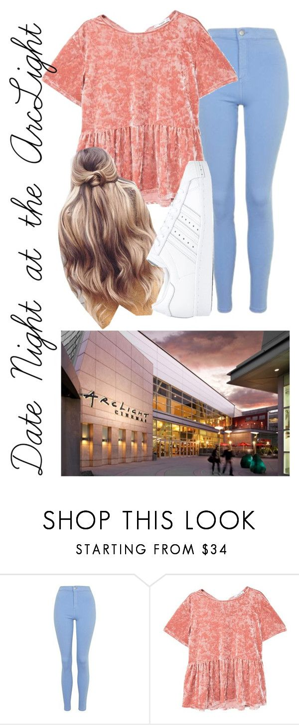 """""""✌️"""" by sydthekyd01 on Polyvore featuring Topshop, MANGO and adidas"""
