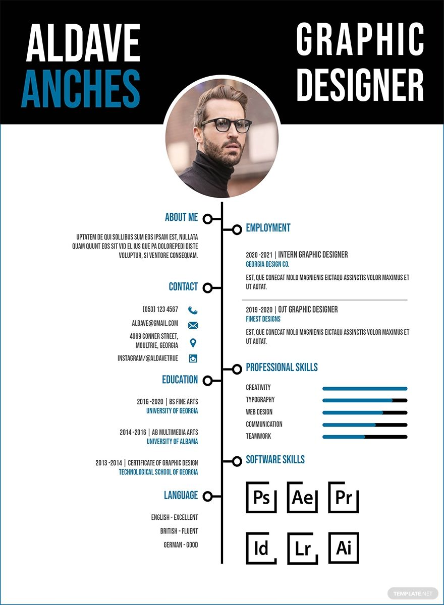 42++ Graphic designer resume sample for fresher Examples