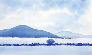 A Simple Watercolour Landscape With Geoff Kersey