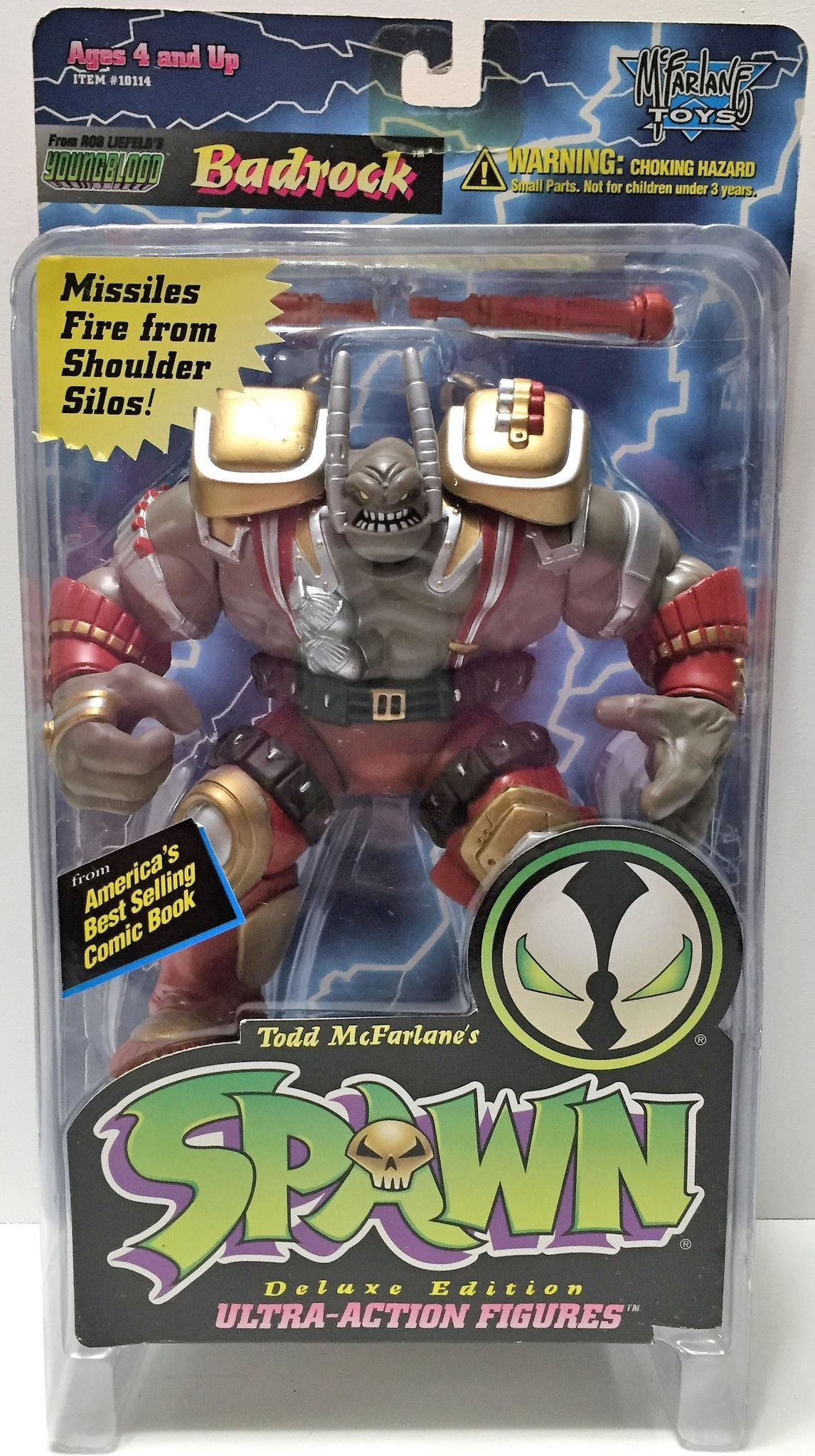 TAS033756) - 1995 McFarlane Toys Spawn Deluxe Ultra-Action