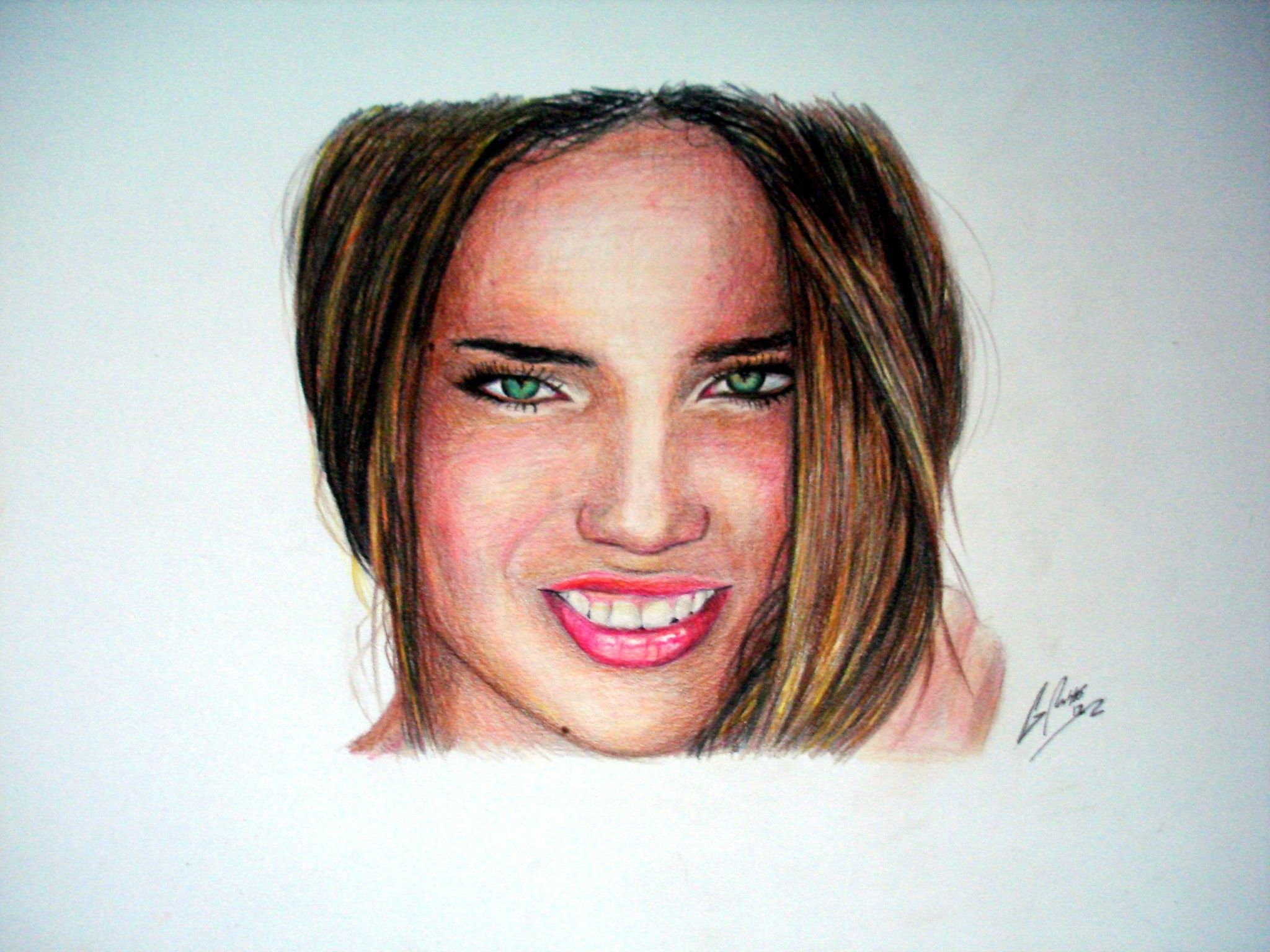 Adriana Lima - Speed Painting: http://www.youtube.com/watch?v=fro2FY9Z6lY