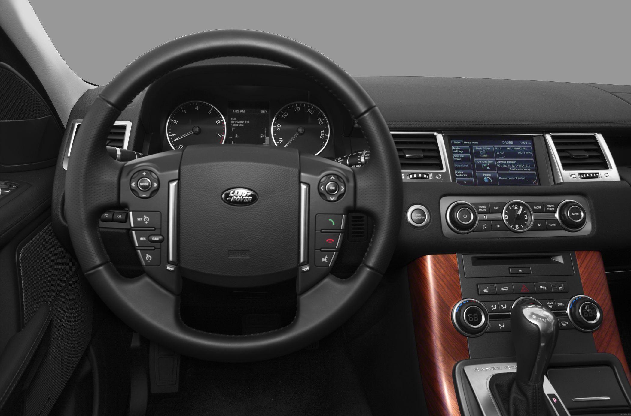2013 Range Rover Interior sport   2013 Land Rover Range ...  Range