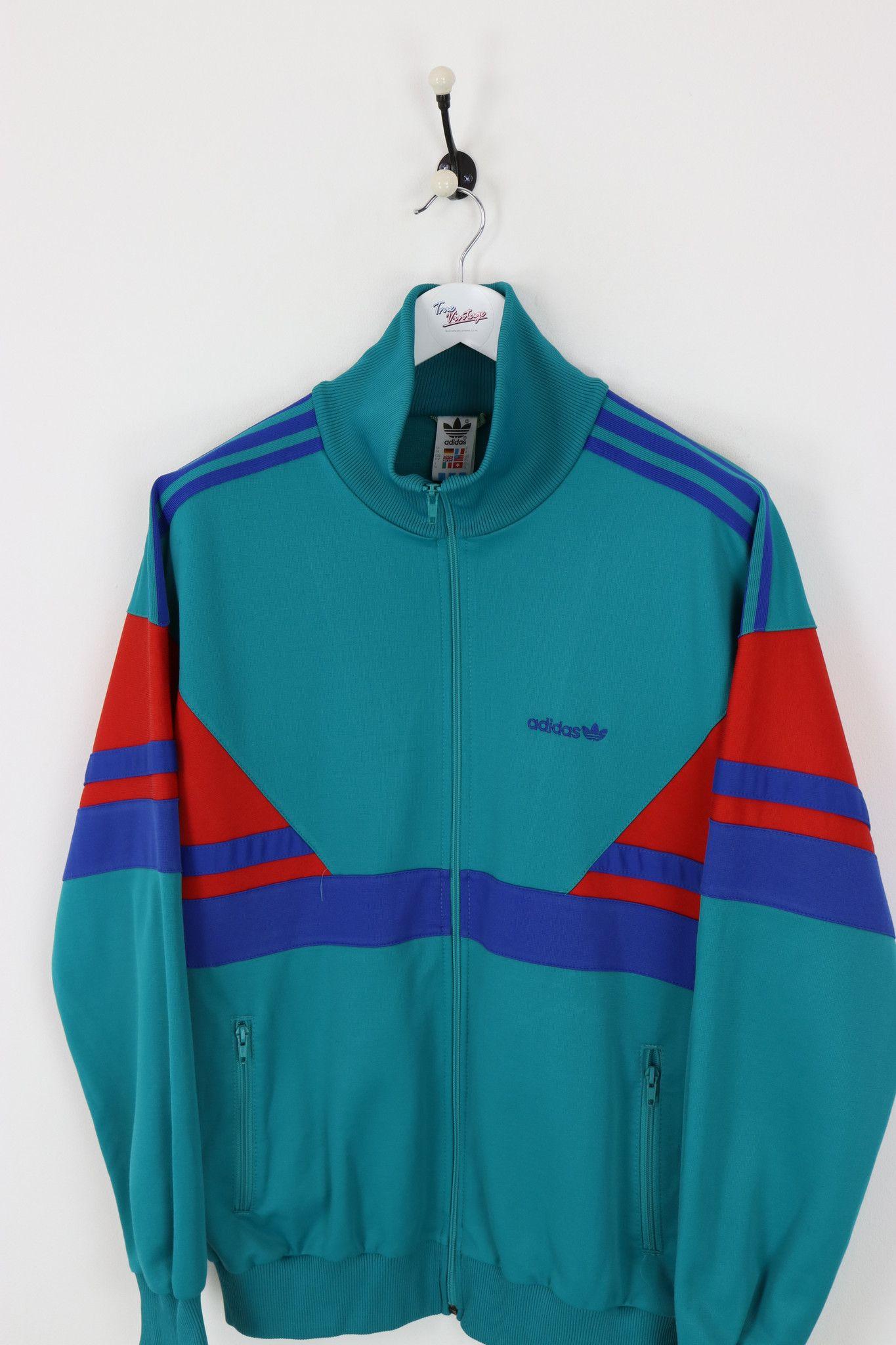 Vintage Adidas Originals Wolle Bomber Jacke   Herren S
