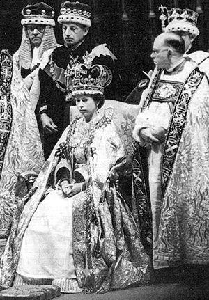 1953 queen elizabeth s coronation elizabeth ii queen elizabeth coronation pinterest