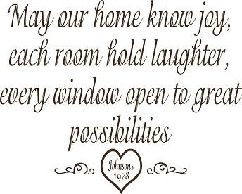 New House Opening Quotes. QuotesGram | Sentiments | Home ...