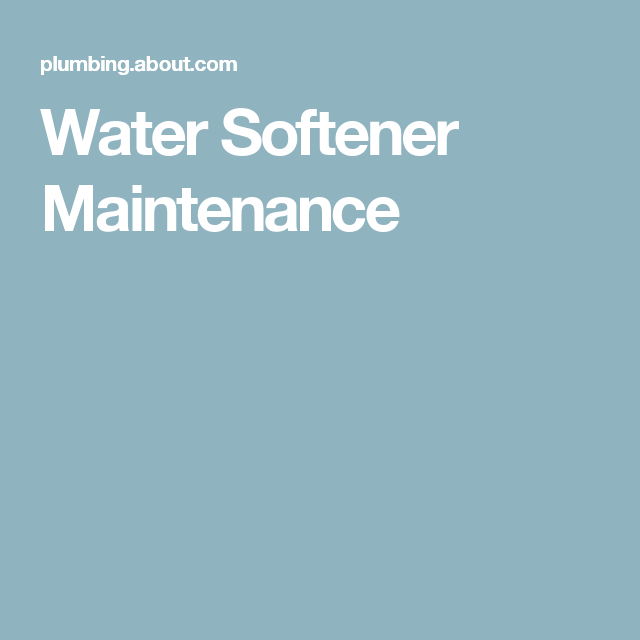 Fixing A Water Softener Salt Bridge Salt Water Pool