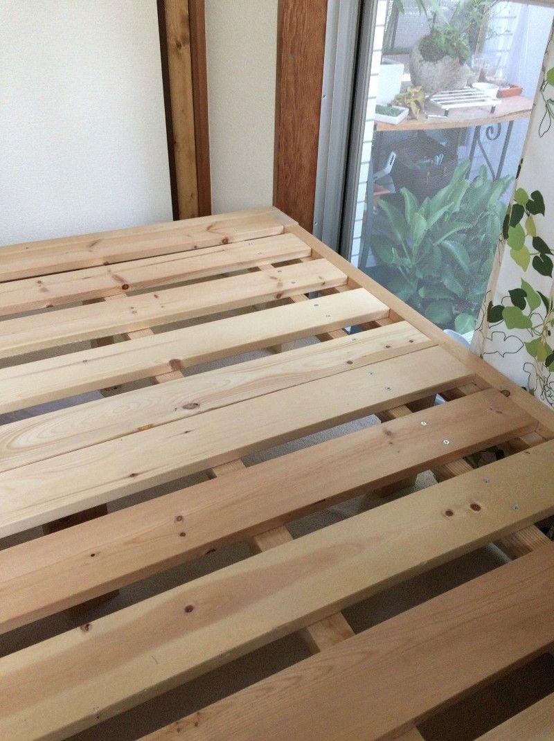 Diy ベッドは簡単に手作りできる 作り方のアイデアを大公開 Limia リミア ベッド Diy 手作りベッド すのこベッド
