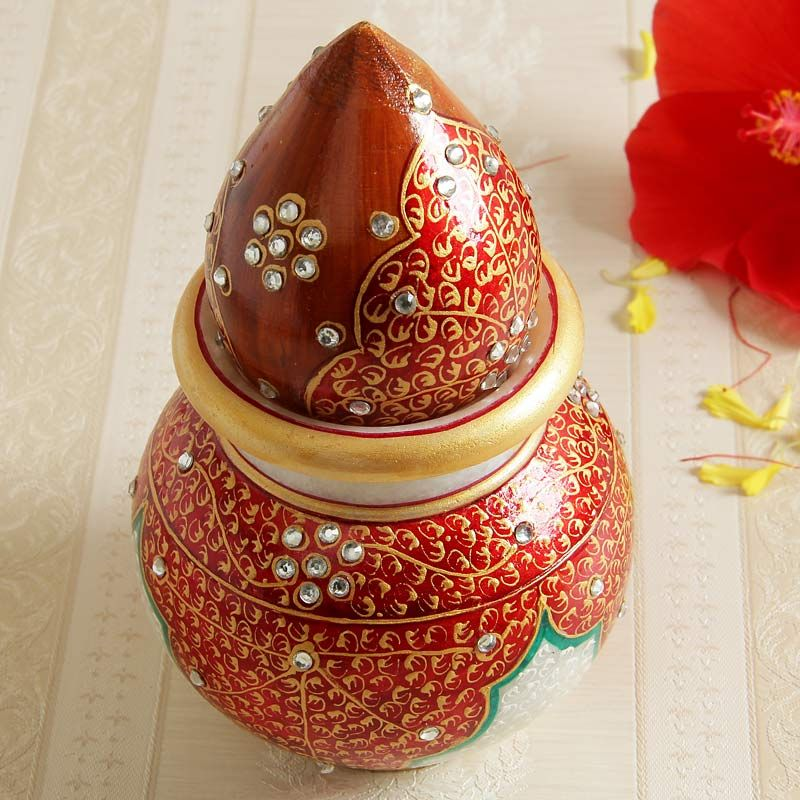 Buy Lota with Coconut,Pooja Accessories Online Send
