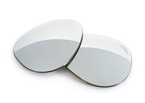b7454277ce Fuse Lenses FUSE Lenses for Ray-Ban RB7021 Matthew (55mm) Chrome Polarized  Lenses