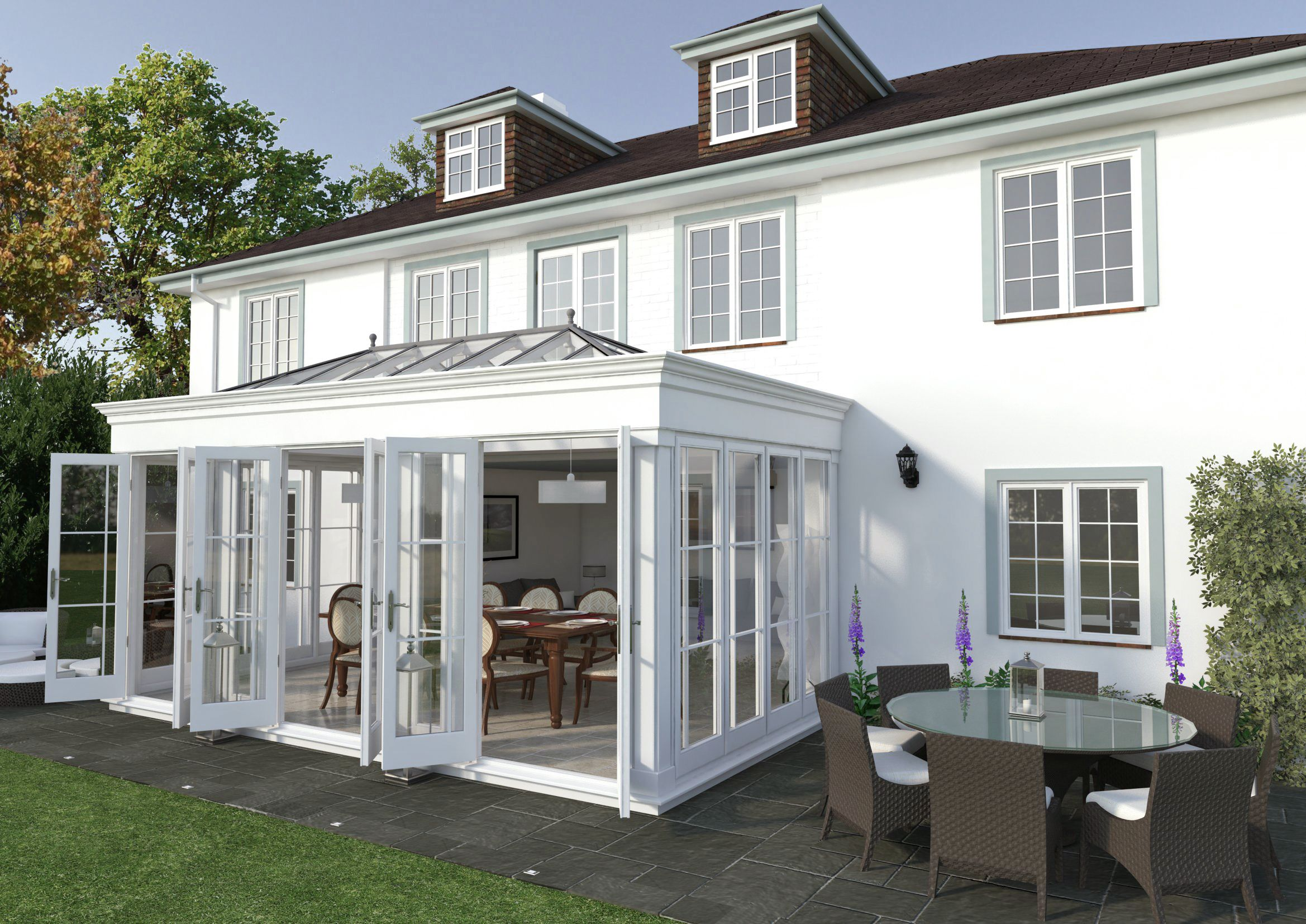 Another Beautiful Orangery Constructed At Knighton S Court