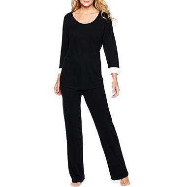 Liz Claiborne Lounge Top Or Pants - jcpenney Sleep Pants 6cec143b6