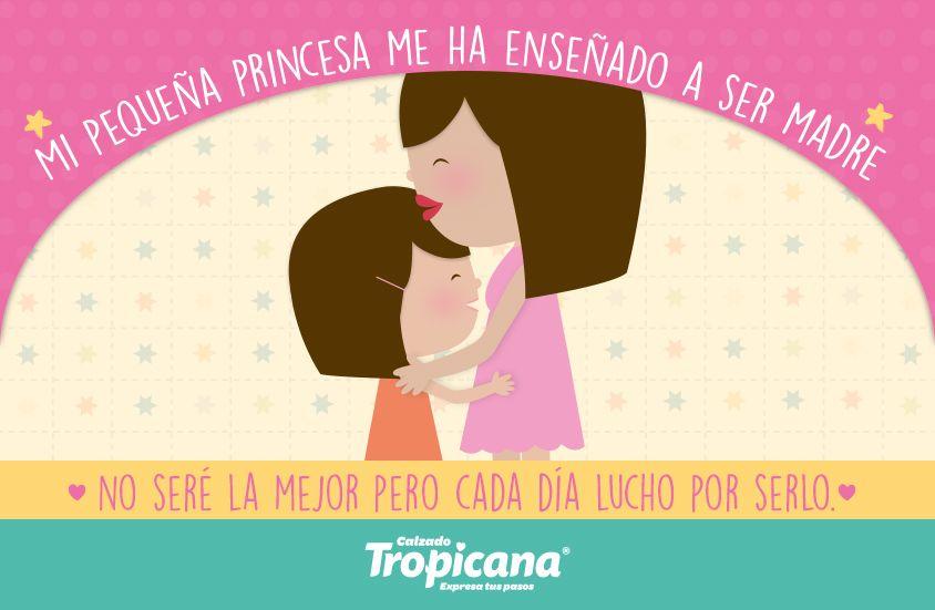 ¿Qué te ha enseñado tu #peque?   #Amor #Tropicana
