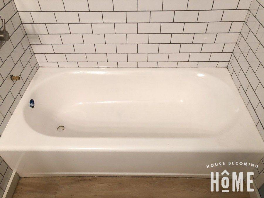How To Paint A Bathtub Painting Bathtub Diy Bathtub Bathtub