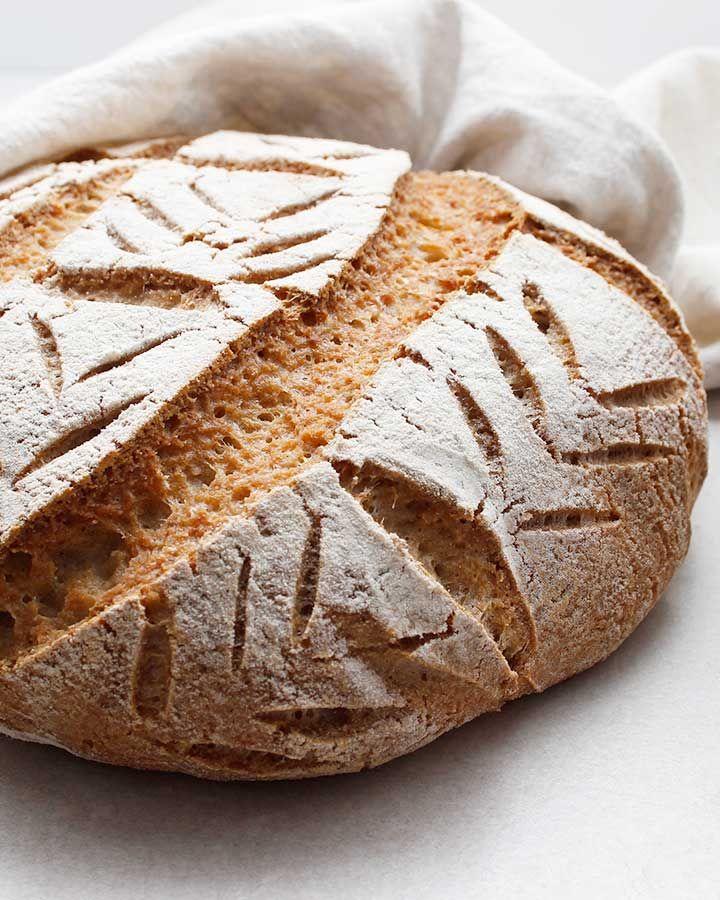 Buckwheat Sourdough Loaf GlutenFree Vegan Recipe in