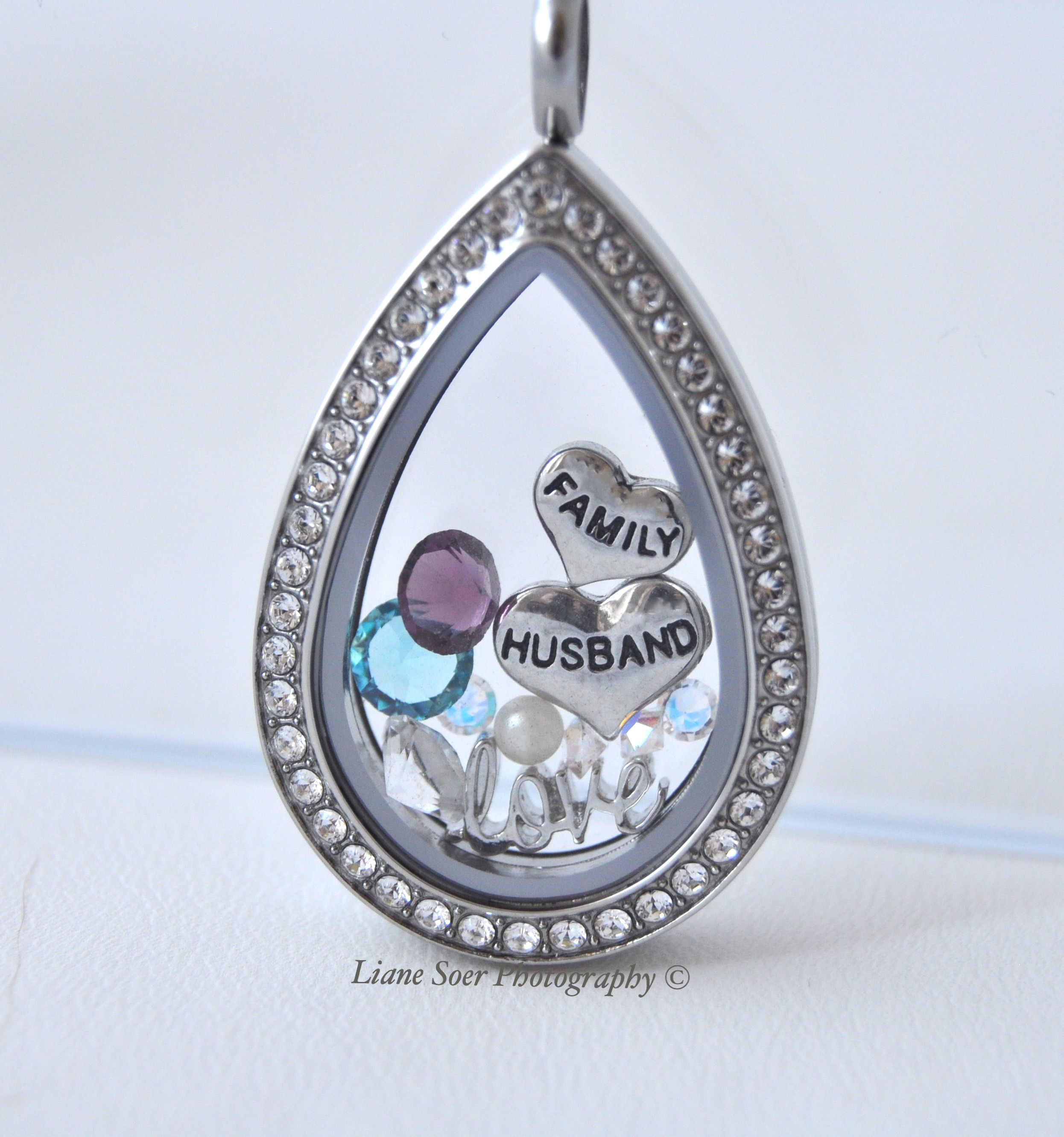 lockets silver wid teardrop sterling locket lg product