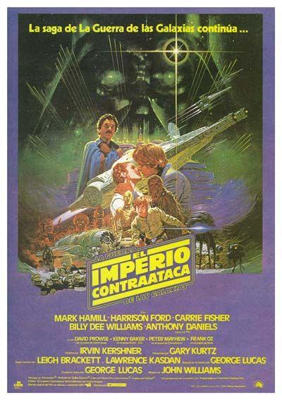 """El imperio contraataca (1980) """"Star Wars: Episode V - The Empire Strikes Back"""" de -  tt0080684"""